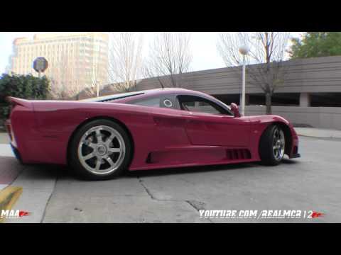 Saleen S7 Twin Turbo Start-up, Engine Sound & Walkaround
