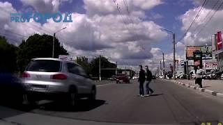 Очередной водитель пожалел что не пропустил пешехода