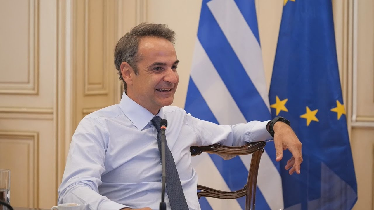 Τηλεδιάσκεψη του Πρωθυπουργού με παιδιά που μαθαίνουν ελληνικά σε διαφορετικές ηπείρους του πλανήτη