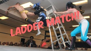 Pro Wrestling Ladder Match! - April 6, 2018