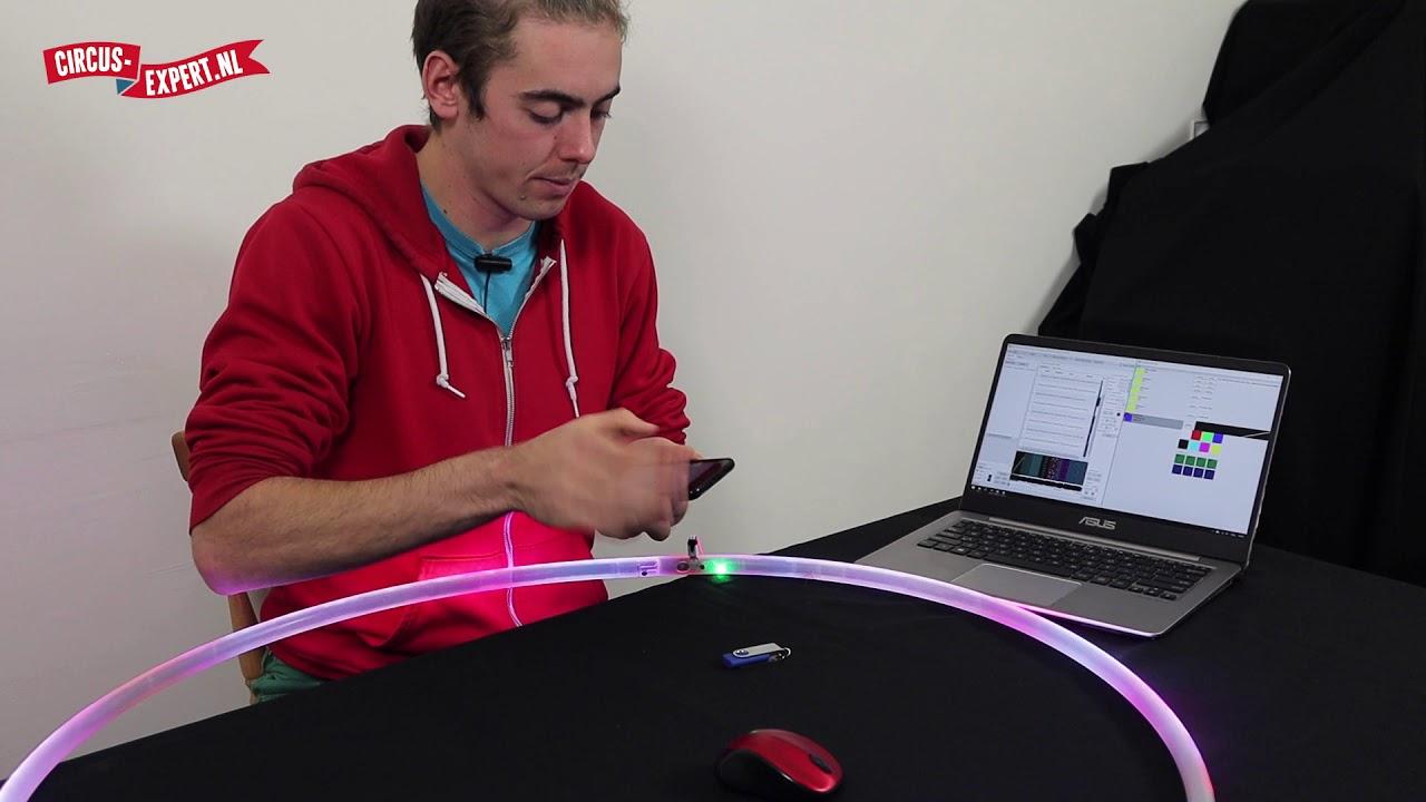 product video LTX Pixel Led Hoop 165 pixels met lichte krasjes