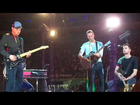 Coldplay - Us Against The World - São Paulo, 08/11/2017