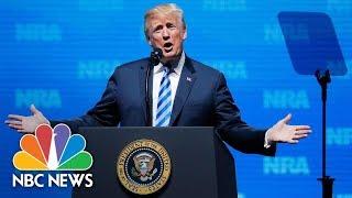 President Donald Trump Addresses NRA's Annual Convention In Dallas | NBC News