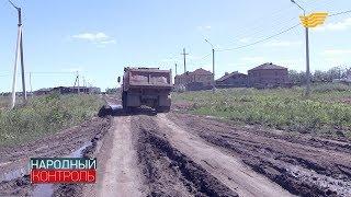 Жители поселка Косшы 6 лет добиваются ремонта дороги