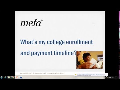 What's My College Enrollment and Payment Timeline?