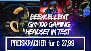 Beexcellent GM-100 Gaming Headset in Test