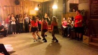 "LA SALSA Lviv reggaeton team show ""Cheka - Caripela"""