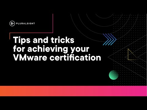 Tips and tricks for achieving your VMware certification - YouTube
