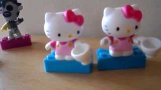 Hello Kitty & Moshi Monsters Surprise Toy Packet Opening Review