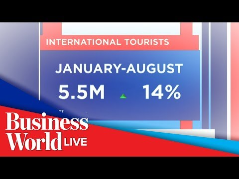 Tourist arrivals breach 5M mark in August: DOT