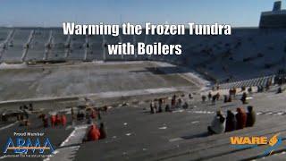 Heating Lambeau Field with Boilers