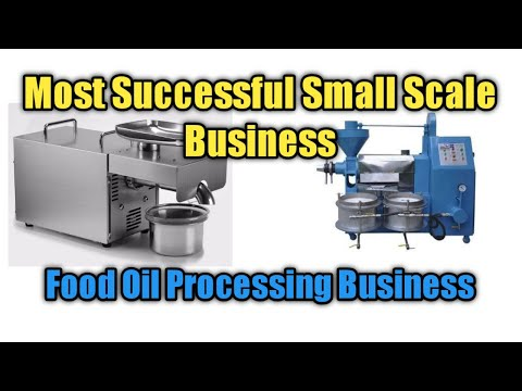 , title : 'Most Successful Small Scale Business  -  Profitable Cooking (Food) Oil Business