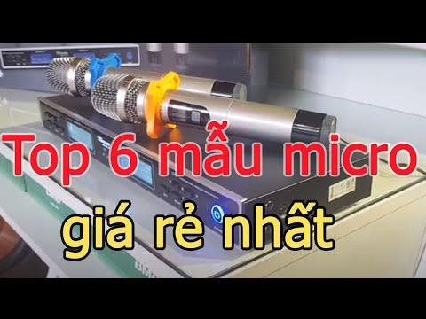Top 6 mẫu micro karaoke, micro không dây đáng mua nhất