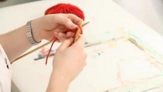 When I Knit Stitch, My First Row Is Always Messy : Knitting & Stitching