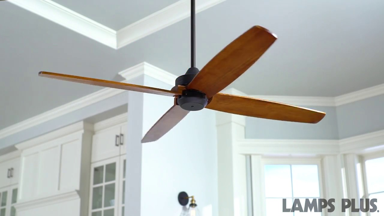 Casa Vieja® Impel ™ Bronze Damp Ceiling Fan