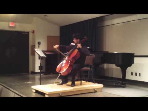 Walton Cello Concerto mvmt 1