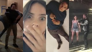 Teen Wolf Season 6 Cast Best Funniest Moments | Tyler Posey & Dylan Sprayberry & Shelly Hennig