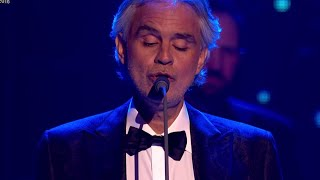 Andrea Bocelli performs 'Nessun Dorma' live at The Global Awards 2018