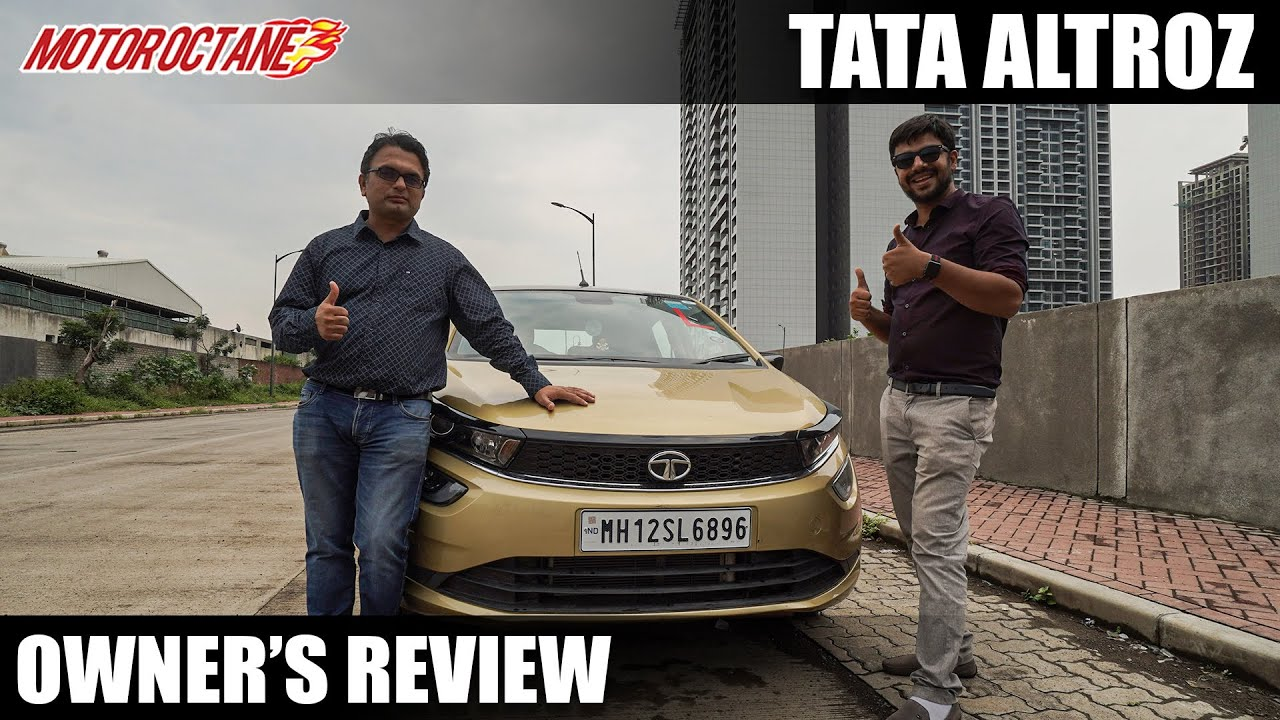 Motoroctane Youtube Video - New Tata Altroz Owner's Review | Hindi | MotorOctane