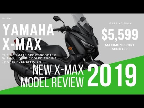 New Yamaha XMAX 2019 Sport Scooter | Review