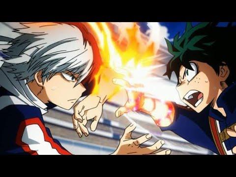 Midoriya VS Todoroki - FULL FIGHT 1080p [ENG SUB]
