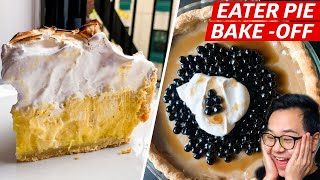 Who Will Win Eater's Pie Baking Challenge?  — Eater Bakes thumbnail