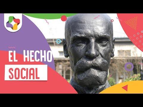 El hecho social - Durkheim - Educatina