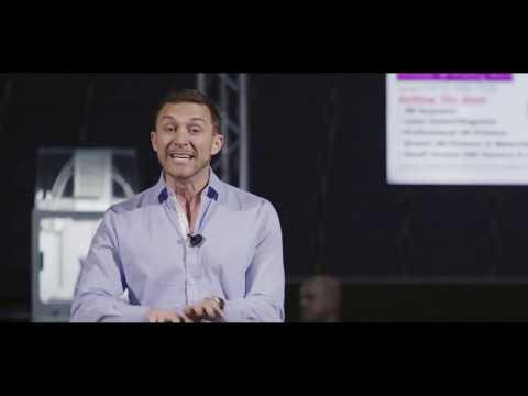 Nick Friedman Omar Soliman Speech Sizzle Reel Visionary Entrepreneurship Synapse at Amalie Arena