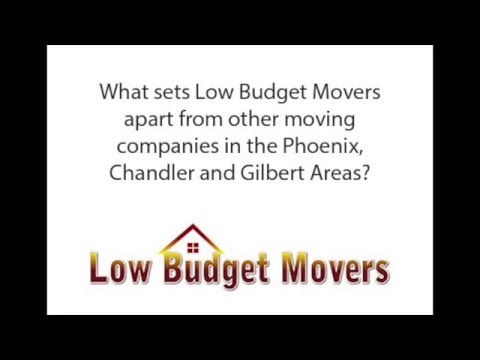 Moving Companies in Mesa, AZ - What Sets Us Apart