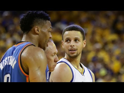 RUSSELL WESTBROOK PUNCHES STEPHEN CURRY & 1 ON 1 (PARODY) NBA 2K17 Stephen Curry Fights Westbrook