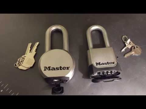 "[52] Master ""Magnum"" Padlocks Picked and Bypassed"