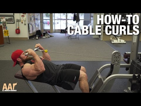 Seth Feroce How-To: Cable Curls