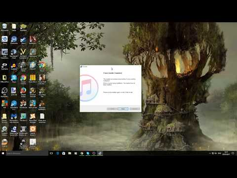 Tech Solutions | How To Fix iTunes Install Error (Your system has not been modified.)