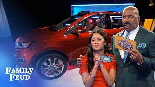 Car Stars: Nguyen Family 🚗⭐️ | Family Feud - dooclip.me