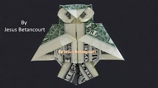 Dollar Origami OWL Step, By Step Very Easy  INSTRUCTIONS