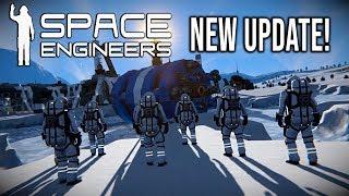 NEW MULTIPLAYER + FEMALE ENGINEER! - Space Engineers Major Overhaul!