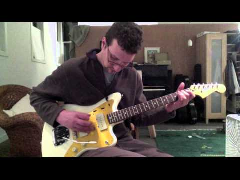 I'm reviewing the Squier J Mascis Jazzmaster.