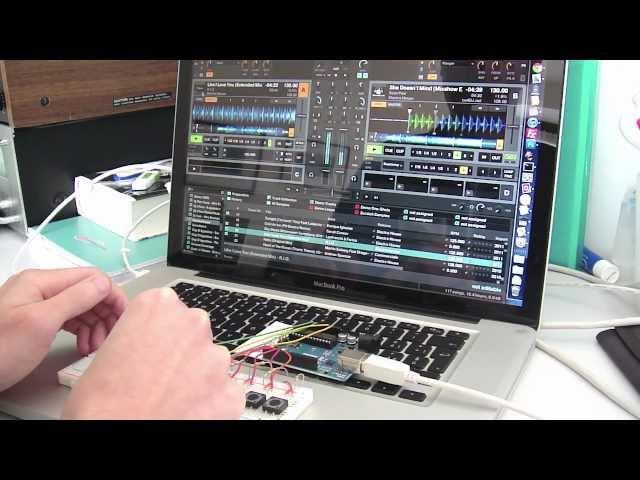 ArduDJ | Arduino UNO + Traktor Scratch Pro 2