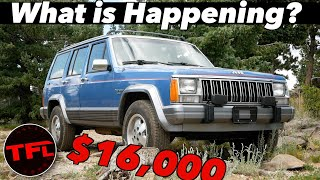 Old Jeep Cherokee Prices Are OUTRAGEOUS!