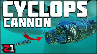 Cyclops LASER CANNON ! Modded Subnautica Ep.16 | Z1 Gaming