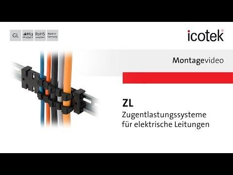 Zugentlastung ZL | Montage | icotek