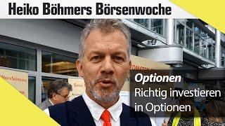 Böhmers Börsenwoche: Optionen bieten große Chancen