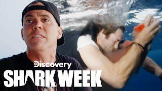 Shark Bites 'Jackass' Star Poopies | Shark Week