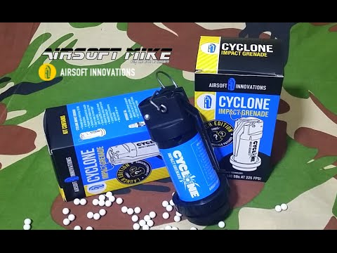 CYCLONE IMPACT by Airsoft Innovations / Unboxing / Tutorial Review / Test