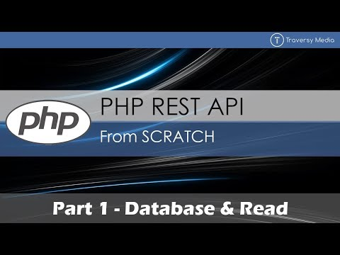 PHP REST API From Scratch [1] - Database & Read Mp3