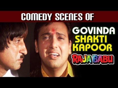 Download Govinda, Shakti Kapoor, Best Comedy Scenes, Raja Babu Hindi Movie - Jukebox HD Mp4 3GP Video and MP3