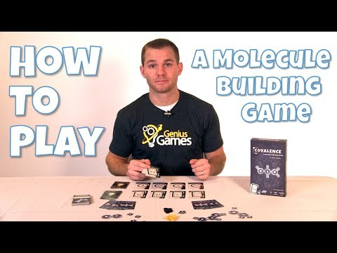 How To Play - Covalence: A Molecule Building Card Game