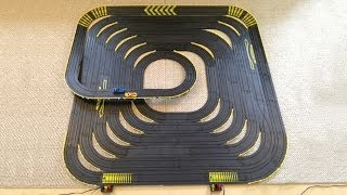 Large Tyco Slot Car Spiral with over 70ft of Track
