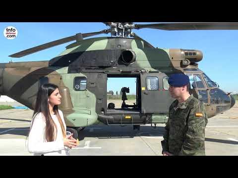 Conozca los helicópteros Cougar y Super Puma del Bhelma IV