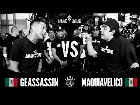 Barras De Sangre: Geassassin 🇲🇽 vs Maquiavelico 🇲🇽 [ Batallas Escritas ]